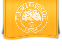 Logo for the City of League City, Texas